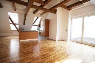 Top Adresse: Helle und ruhige Penthouse Wohnung mit Terrasse im 1. Bezirk zu vermieten