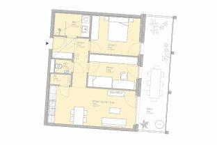 LEBE SMART - MIETE PROVISIONSFREI - 3-Zimmer-Erstbezugswohnung