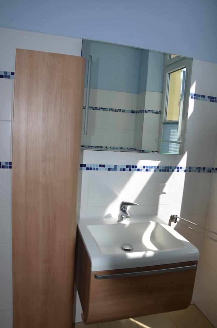 Bad/WC mit Dusche