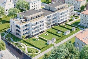 """2 Zimmer- Anlegerwohnung,   61m² Wohnfläche, 20m² Balkon, Tiefgaragenplatz  im Neubauprojekt """"Mühlbachhof"""",  Typ C-Top 25"""
