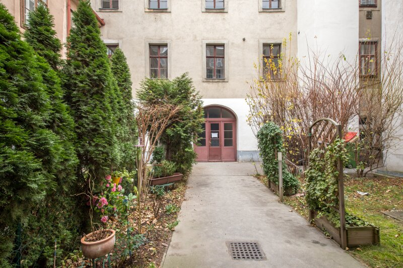 **NEU** Hofruhelage: Außergewöhnlicher EG-ERSTBEZUG, 4-Zimmer, Terrasse+Garten, charmanter Altbau! /  / 1030Wien / Bild 9