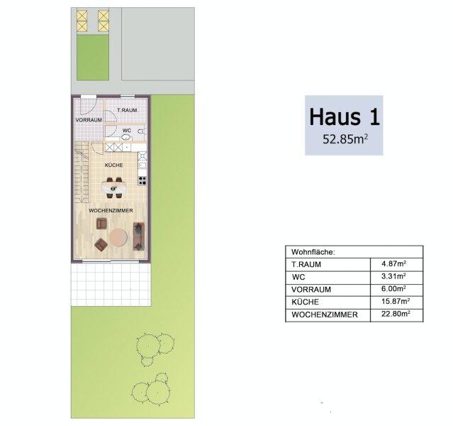 Erstbezug: herrliches, lichtverwöhntes Doppelhaus auf 3 Ebenen - 2 Min. nach Wien /  / 2301Groß-Enzersdorf / Bild 7
