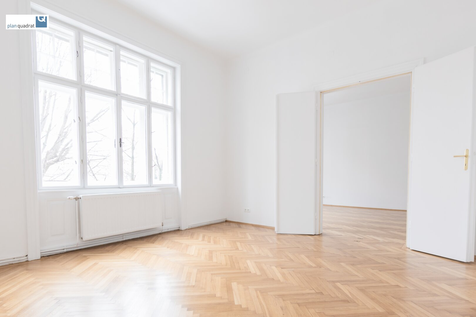 Zimmer 2 (gem. Plan; ca. 19,20 qm)