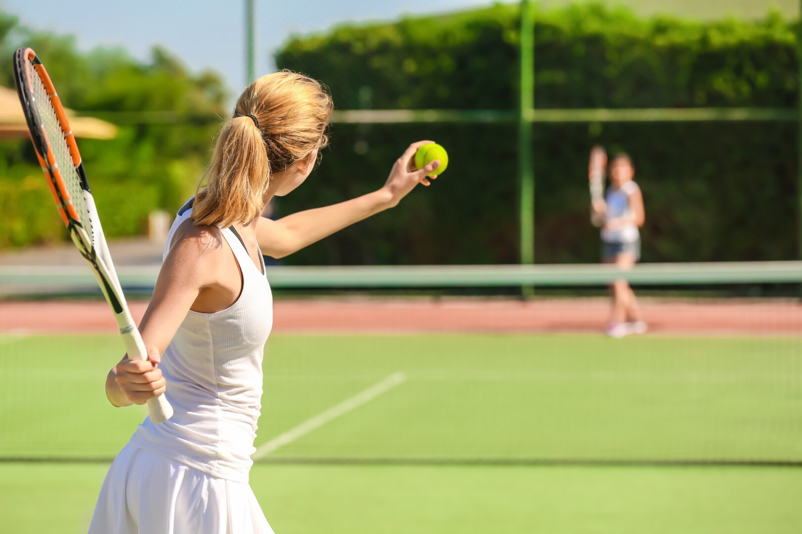 Ausgleich beim Tennis