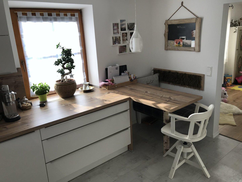 Sitzecke Küche, Einfamilienhaus Fieberbrunn