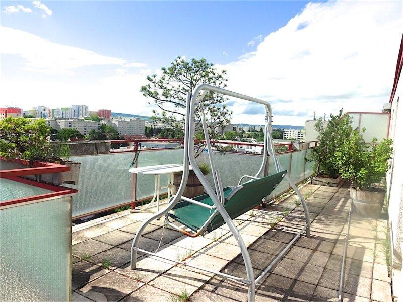 Weitblick: Terrassentraum, 103 m2 Wohnfläche + 74 m2 Terrasse, sonnig, ruhig, U1-Aderklaaerstraße! /  / 1210Wien / Bild 6