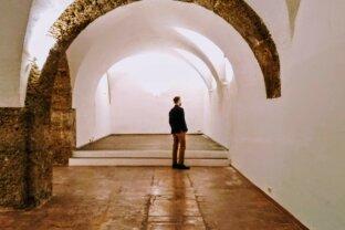 Gewölbe in Bestlage am Mirabellplatz - gediegenes Ambiente mit exklusivem Marmorboden und beeindruckender Raumhöhe
