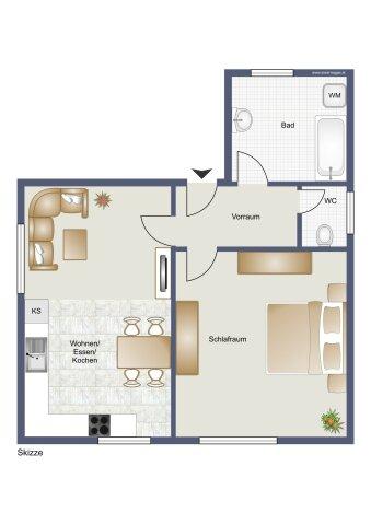 Wohnung Top 1