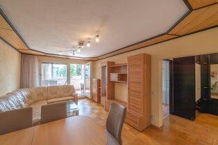 PERFEKT AUFGETEILTE 3-ZIMMERWOHNUNG MIT 16 m² WINTERGARTEN UND VIEL POTENZIAL