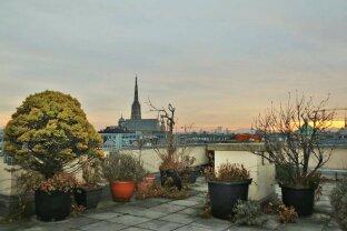Loggia-Eigentum mit Gemeinschafts-Dachterrasse im Herzen Wien´s