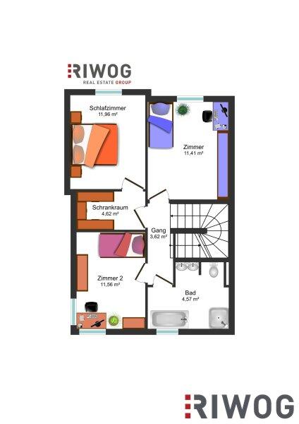 Wohnhit Doppelhaus! - 4 Zimmer, voll unterkellert /  / 2230Gänserndorf / Bild 6