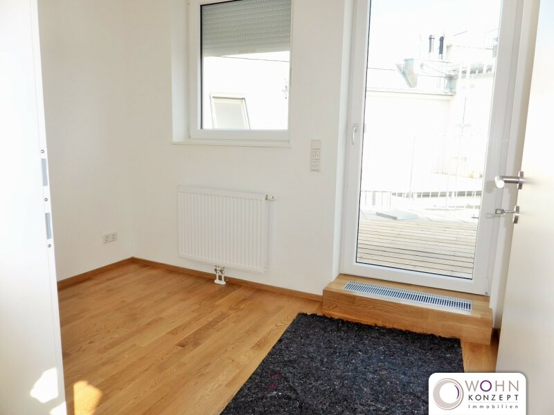 Erstbezug: 80m² Dachmaisonette + 23m² Terrasse mit Einbauküche - 1090 Wien /  / 1090Wien / Bild 0