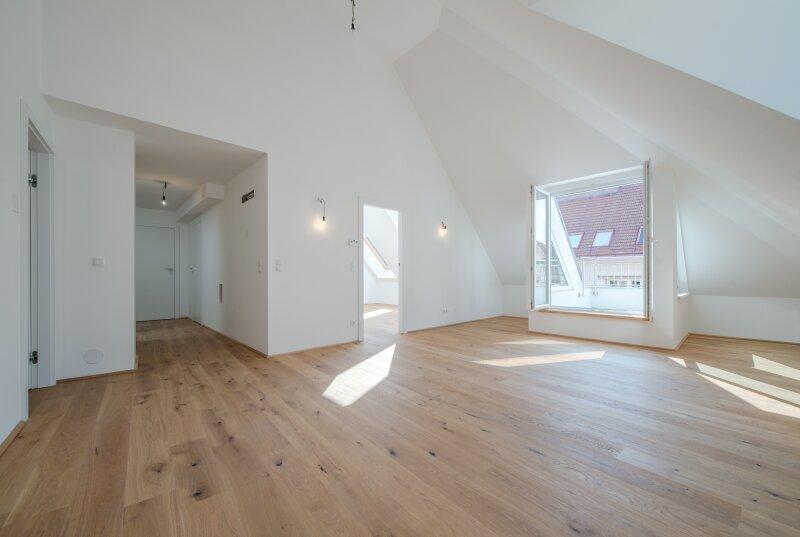 ++NEU++ 3-Zimmer DG- Erstbezug mit Terrassen! perfekte Raumaufteilung! **VIDEOBESICHTIGUNG** PROVISIONSRABATT! /  / 1150Wien / Bild 0