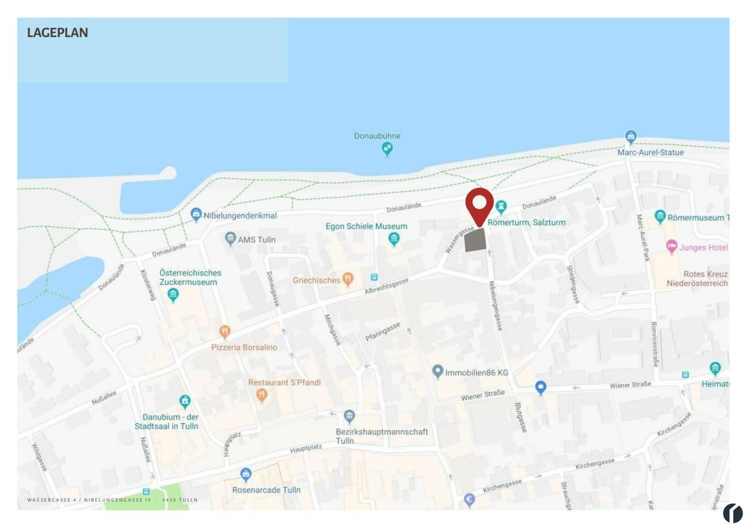 Lageplan Google Maps