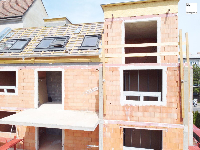 Außenansicht - Terrassen - Rohbau