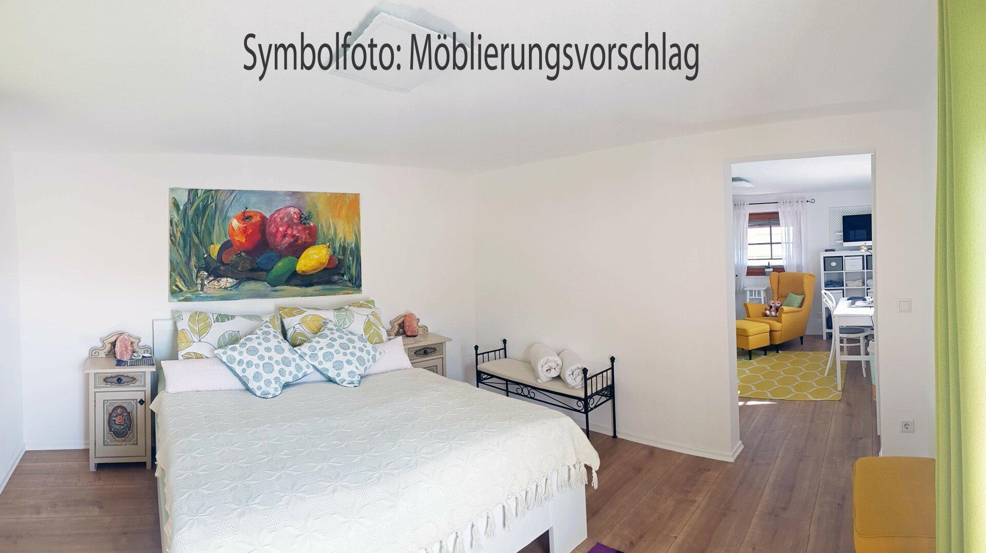Einrichtungsvorschlag Schlafzimmer OG, Einfamilienhaus Fieberbrunn