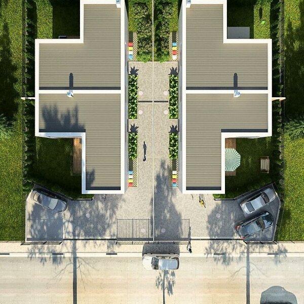 100% Provisionsfrei: Grenze Donaustadt - moderne Doppelhaushälfte in Grünruhelage für Jungfamilien /  / 1220Wien / Bild 3