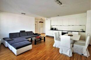 Erfolgreich vermittelt! Komplett modern möblierte 3-Zimmer-Wohnung mit Balkon und Loggia + optionalem Garagenstellplatz nahe U1 - Kagraner Platz ab sofort zur Vermietung !