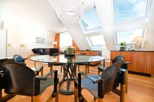 Herrliche Dachterrassenwohnung mit traumhaften Blick über Wien und eigener Garage