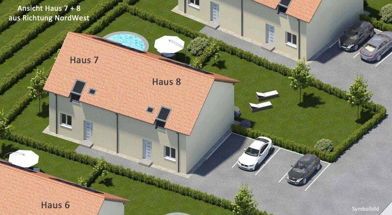 """Neubau: Ziegelmassiv, Dichtbetonkeller, Weingartenblick (Haus 7 """"zum Rebstock"""")"""