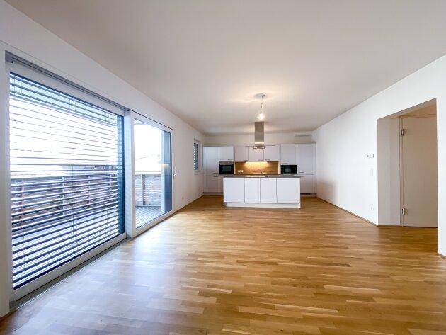 Foto von :::NEU: Herrliche Neubauwohnung mit Balkon in absoluter Ruhelage, Top-Zustand, inkl. Garagenplatz!!!:::