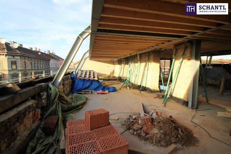 Ihre Wohnungssuche endet HIER! Neue Dachgeschoss-Wohnung mit 3 Terrassen + perfekte Raumaufteilung + Parkplatzmöglichkeit! /  / 1150Wien / Bild 1