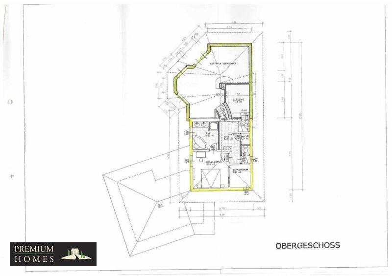 Kirchbichl Zweifamilienhaus_ hohe Qualität mit Modernem Design_Grundriss_Obergeschoss