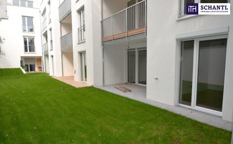 TOP-PREIS+AUSGEZEICHNETE LAGE + NEUBAU / GARTENWOHNUNG + große Terrassen + Eigengarten + Lichtdurchflutet + Grün-/Ruhelage + Tiefgarage in Graz, Nähe LKH und UNI! /  / 8047Graz / Bild 1