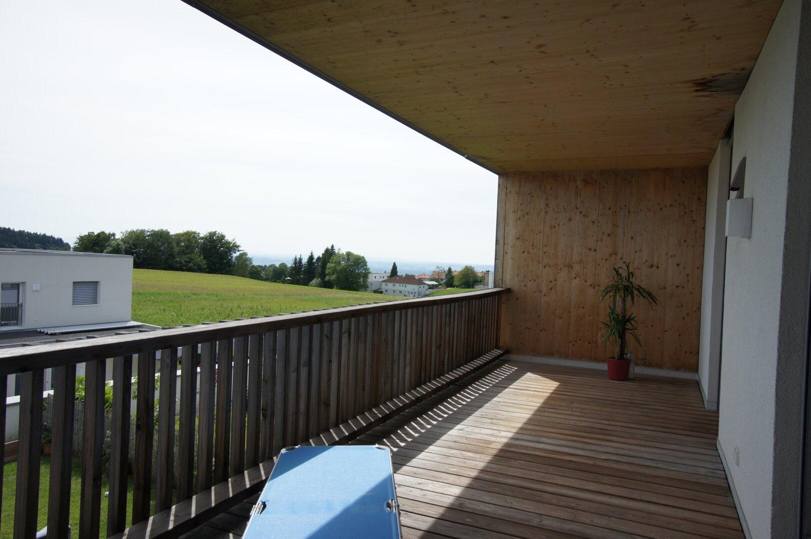 grosszügige Loggia mit ca. 21,47 m²