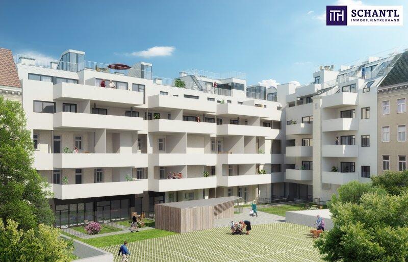 Perfekte 2-Zimmer Wohnung mit Loggia! Großer grüner Innenhof + Rundum saniertes Haus + Perfekte Infrastruktur! /  / 1150Wien / Bild 0