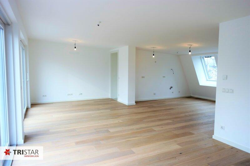:::Erstklassige Neubaumaisonettewohnung im Baurecht mit 2 Terrassen in absoluter Grünruhelage:::