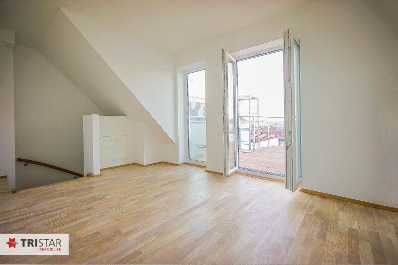 NEU! ++ ERSTBEZUG !!! Dachterrassenwohnung mit 360 Grad Wienblick !!! Terrasse + Dachterrasse !!! 4 Auto Stellplätze (Top 60) ++ /  / 1100Wien / Bild 1