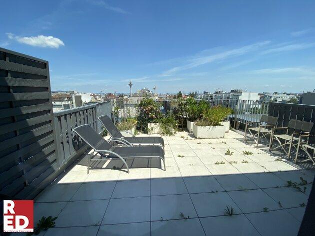 Penthouse-Loft mit Skylineblick