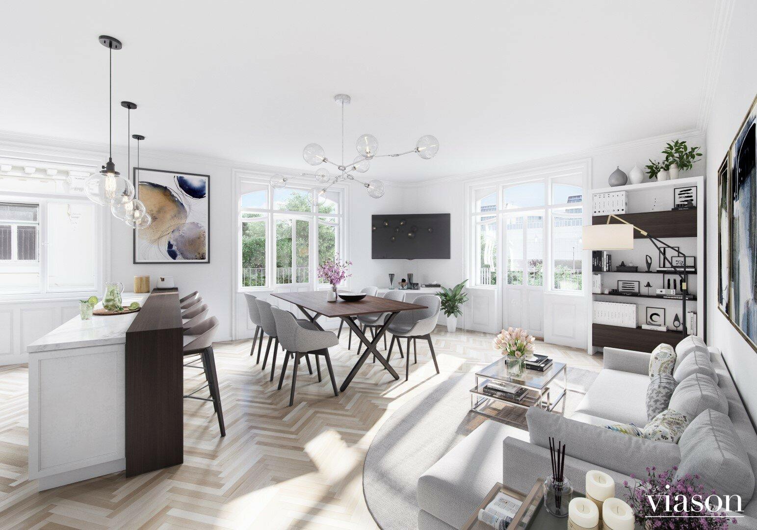 Wohnzimmer Einrichtungsvorschlag