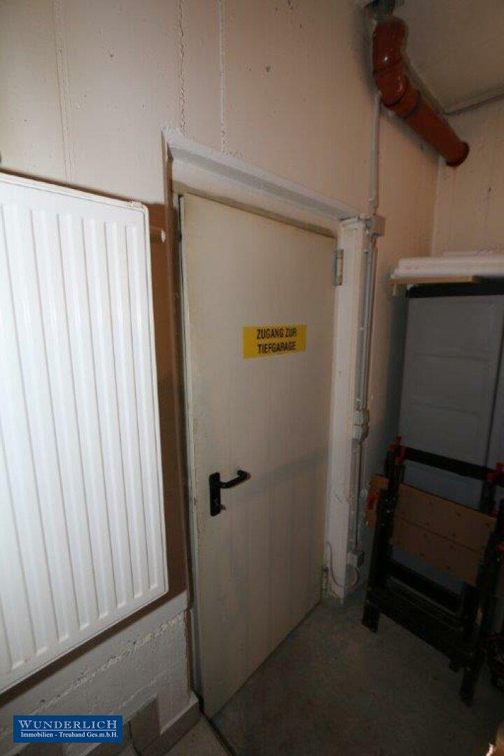 Direkter Zugang zur Tiefgarage