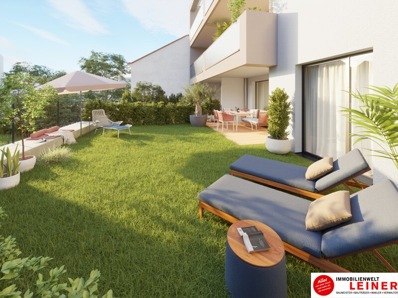 Zentral, provisionsfrei, barrierefrei - 2 Zimmer Eigentumswohnung mit 57,85m² Eigengarten, 1110 Objekt_12082 Bild_606