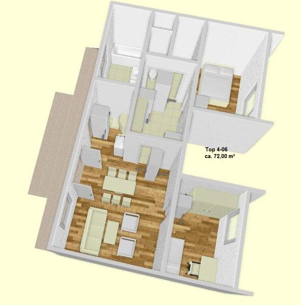 Familienfreundliche 3 Zimmer Wohnung, Provisionfrei!