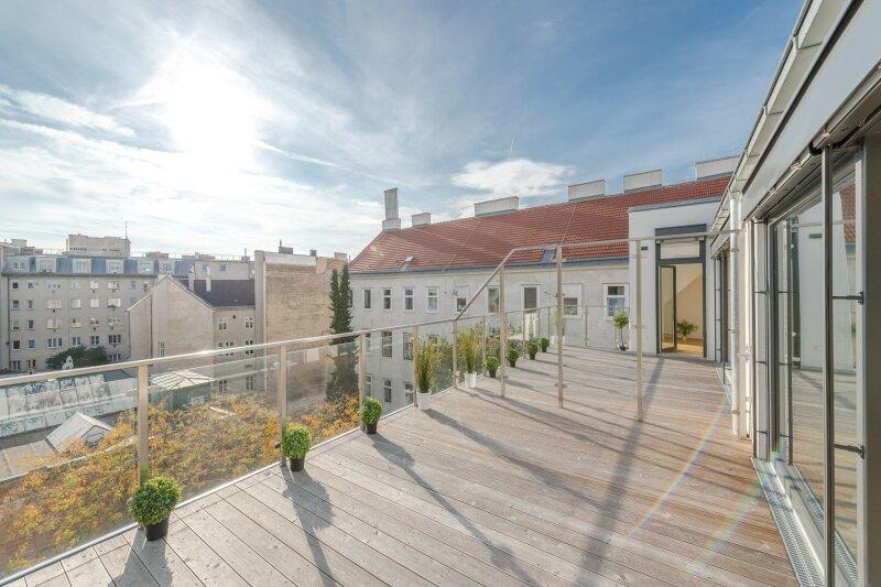 ++RARITÄT** Außergewöhnliche DG-MAISONETTE in TOP-CityLAGE! Altbaucharme + moderne Dachgeschosswohnung! Ruhelage! /  / 1020Wien / Bild 13