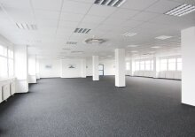 Storage Warehouse 650 m2 + Office space 226 m2 combination south of Vienna in Wr. Neudorf, Austria