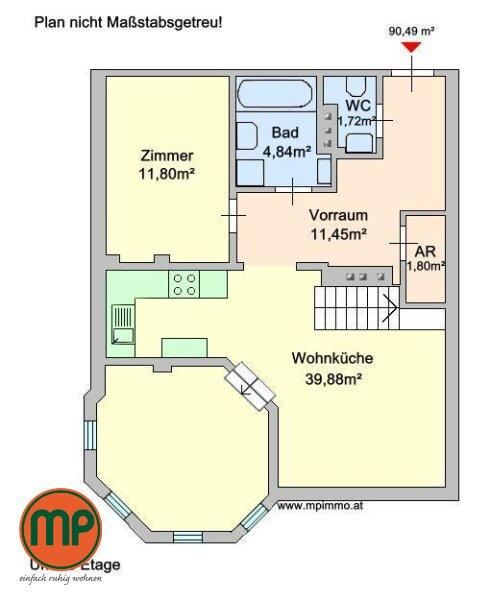 Pärchenwohnung mit Turmzimmer und Galerie /  / 1130Wien / Bild 5