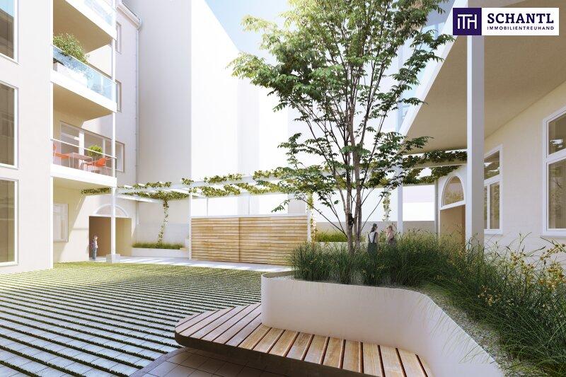 Auf nach Währing! Hochwertig sanierte Altbauwohnung mit hofseitigem Balkon! Wunderschönes und revitalisiertes Altbauhaus + Ruhelage! /  / 1180Wien / Bild 5