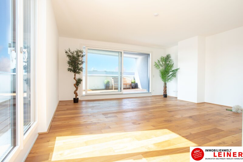 100 m² PENTHOUSE *UNBEFRISTET*BARRIEREFREI*Schwechat - 3 Zimmer Penthouse im Erstbezug mit 54 m² großer südseitiger Terrasse Objekt_9404 Bild_440