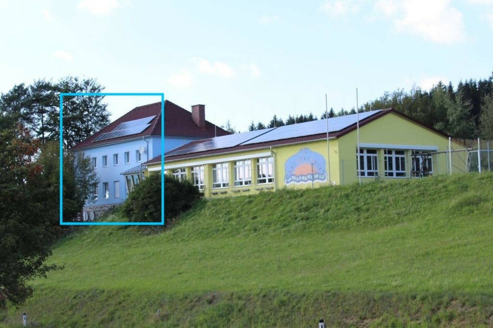 Ehemaliger Kindergarten wird Haus HARMONIE A