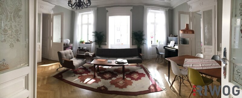 ++ Exklusiver 5-Zimmer AltbauTRAUM  ++ Stilvolle Familienwohnung mit exklusiver Ausstattung und absoluter Top-Ruhelage