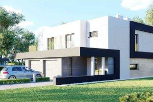 Modernes Doppelhaus in Stockerau auf Eigengrund