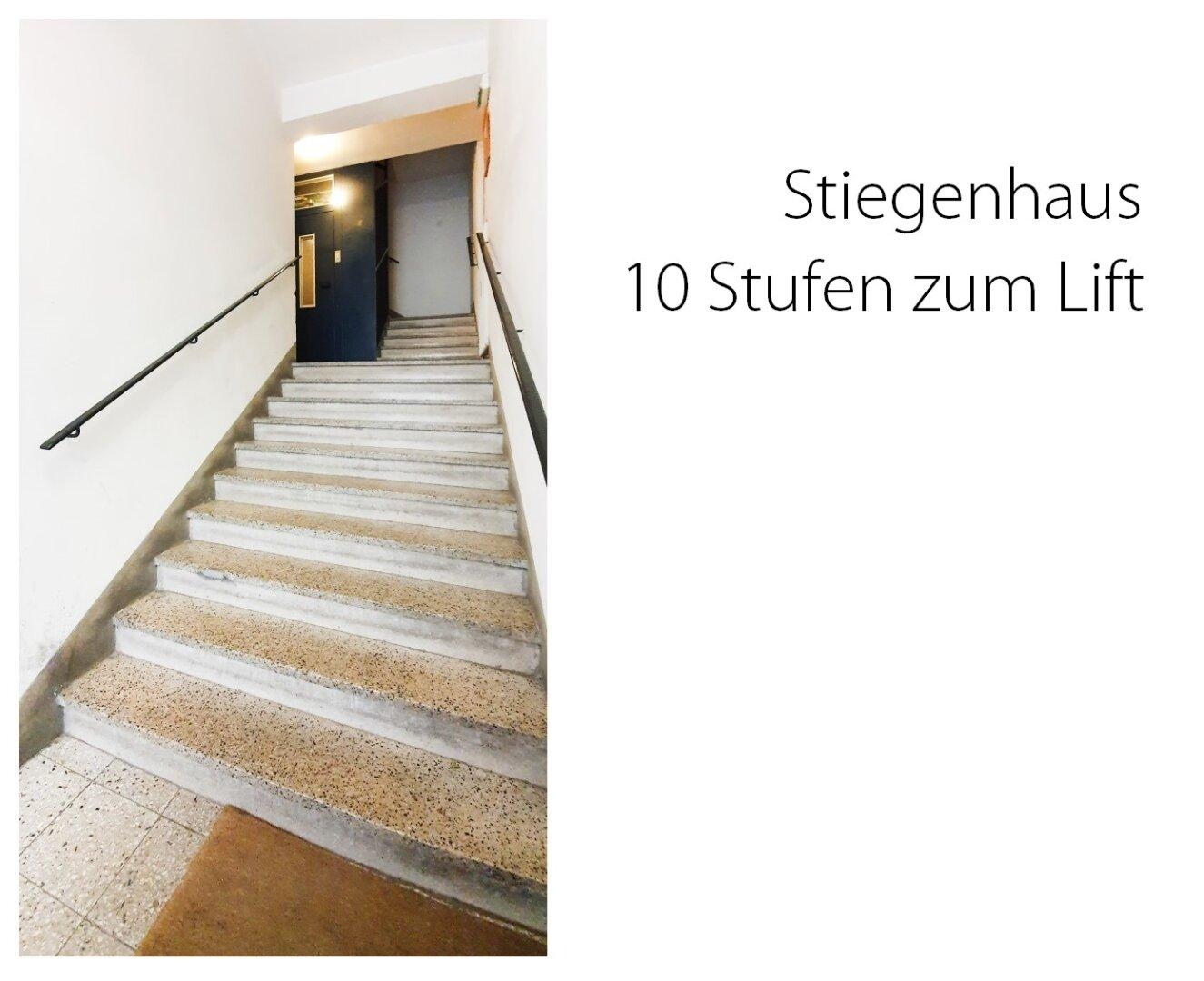 Stufen zum Lift