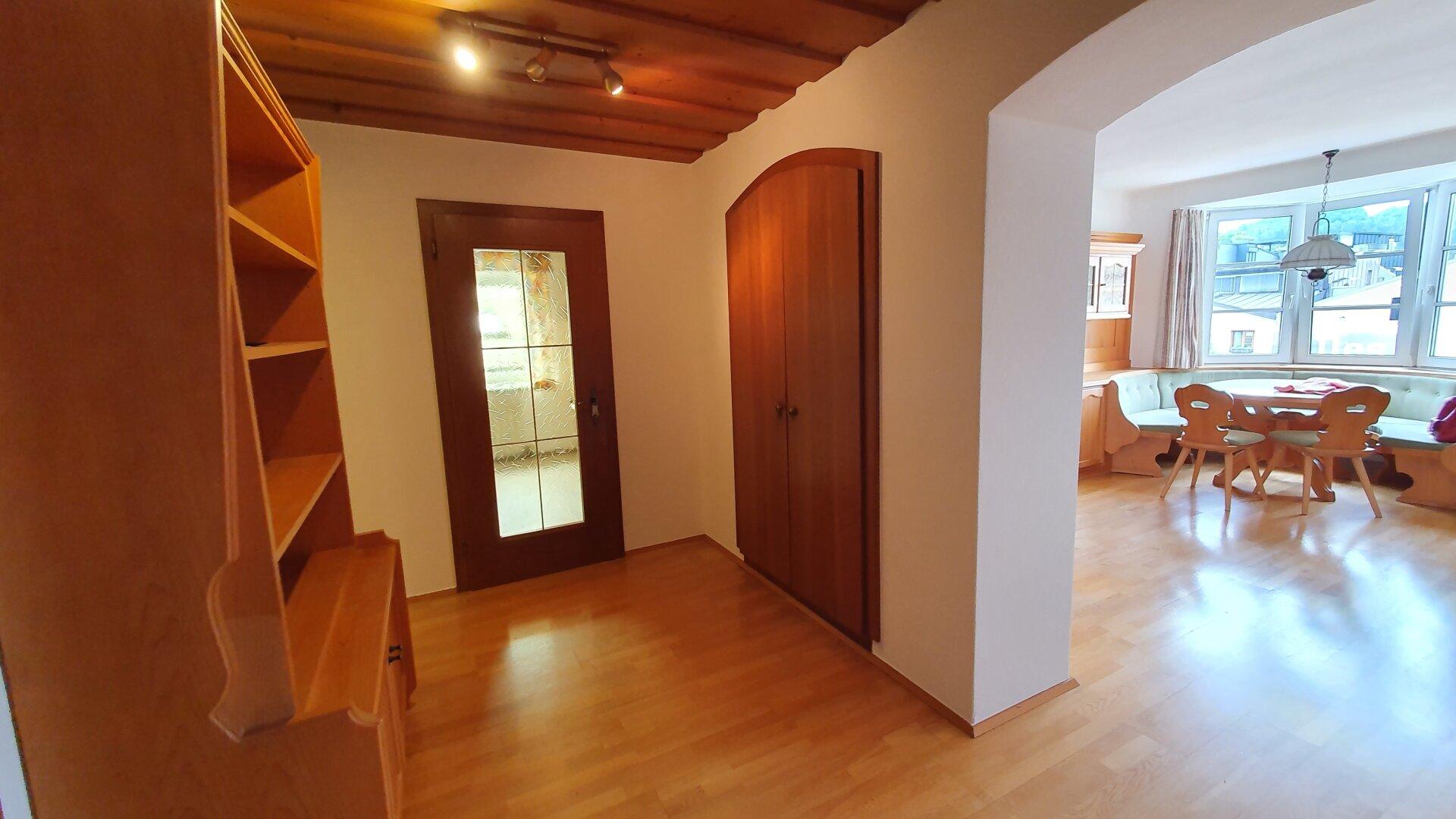 Mietwohnung Kufstein, Vorraum