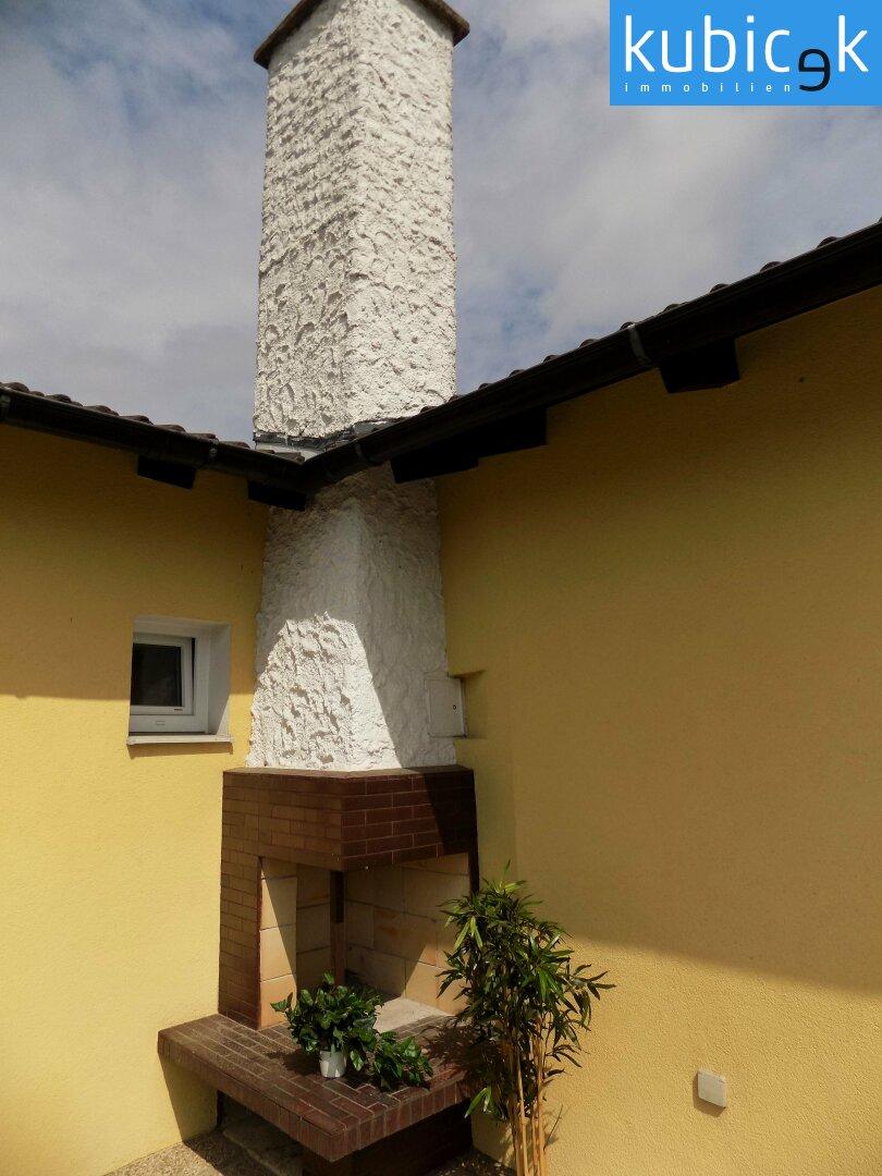 Terrasse mit Griller