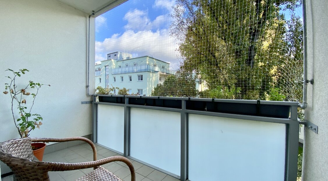 Innenhof gerichtete 2 Zimmer Wohnung beim Wasserpark / Floridsdorfer Brücke - perfekte Verkehrs- und U-Bahn Anbindung