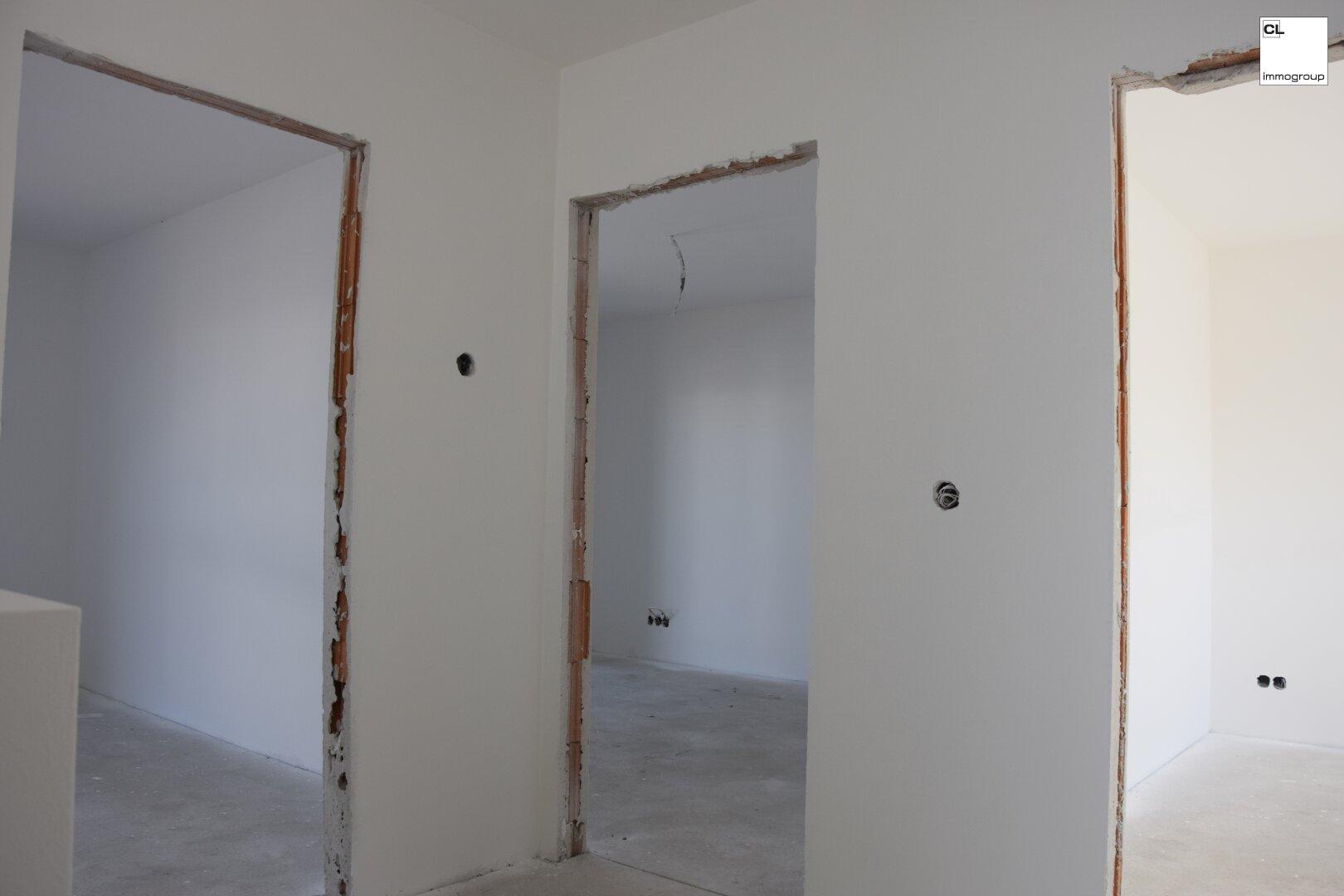 Drei Schlafzimmer im Obergeschoss